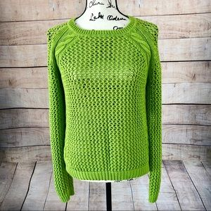 Fenn Wright Manson Bright Green Sweater Size L